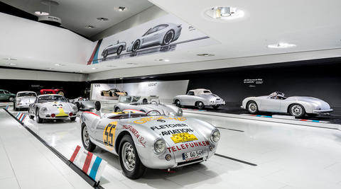 With this special exhibition, Porsche presents numerous stories and milestones