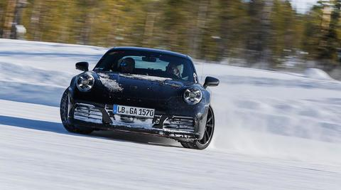 Erprobung Porsche 911