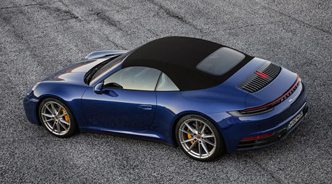 The new 911 Cabriolet