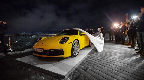 911 Carrera S, Areit-Alm, 2019, Porsche AG 911 Carrera S